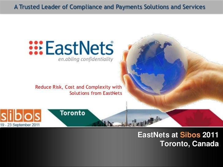 EastNets at Sibos 2011
