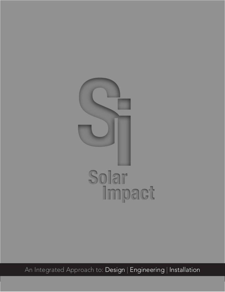 Solar Impact Brochure