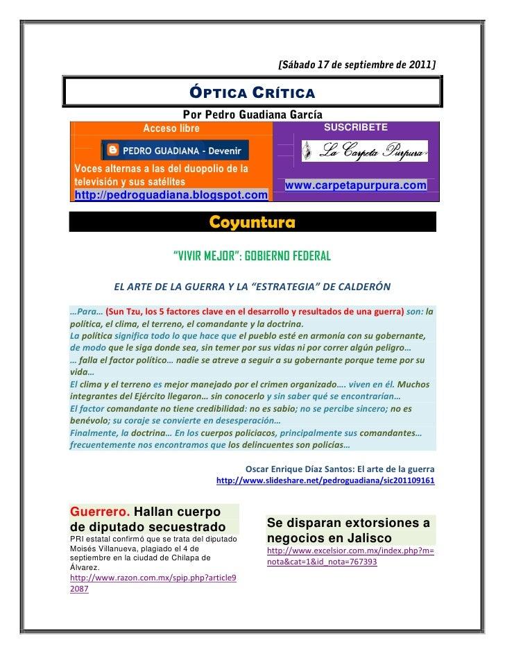 ÓPTICA CRÍTICA                    Acceso libre                                    SUSCRIBETE Voces alternas a las del duop...