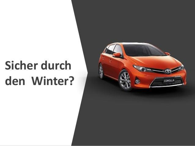 Sicher durch den Winter?