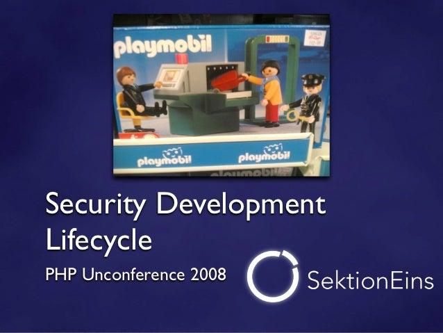 Sicherheit als bestandteil des entwicklungsmodells