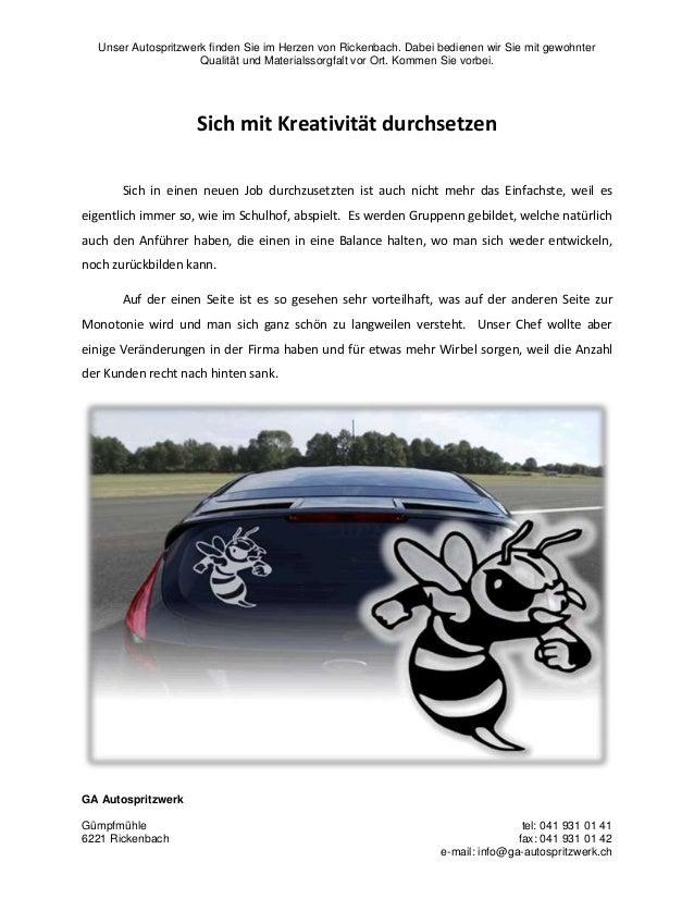 Unser Autospritzwerk finden Sie im Herzen von Rickenbach. Dabei bedienen wir Sie mit gewohnter Qualität und Materialssorgf...
