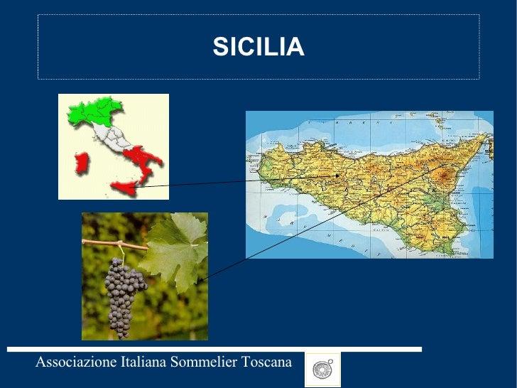 Sicilia Lezione AIS Secondo Livello sommelier