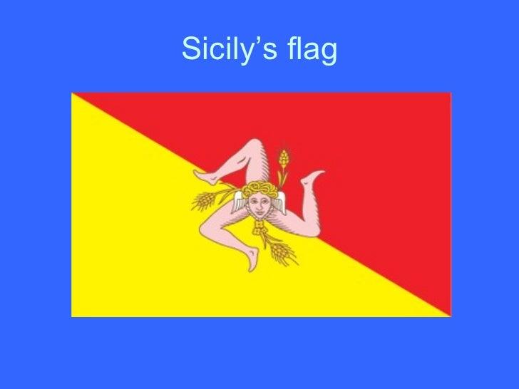 Sicily's flag