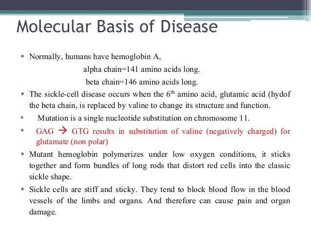 the causes effects and treatment of sickle cell disease Pain management many patients with chronic diseases suffer pain as a component of the disease process this is especially true for patients with sickle cell disease, with 90% of hospitalizations for this population being due to sickle pain.