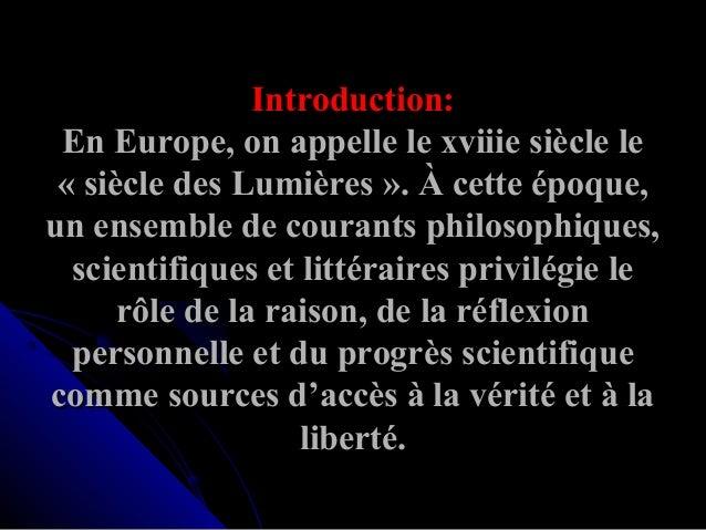 Si cle des lumi re 01 for Architecture definition philosophique