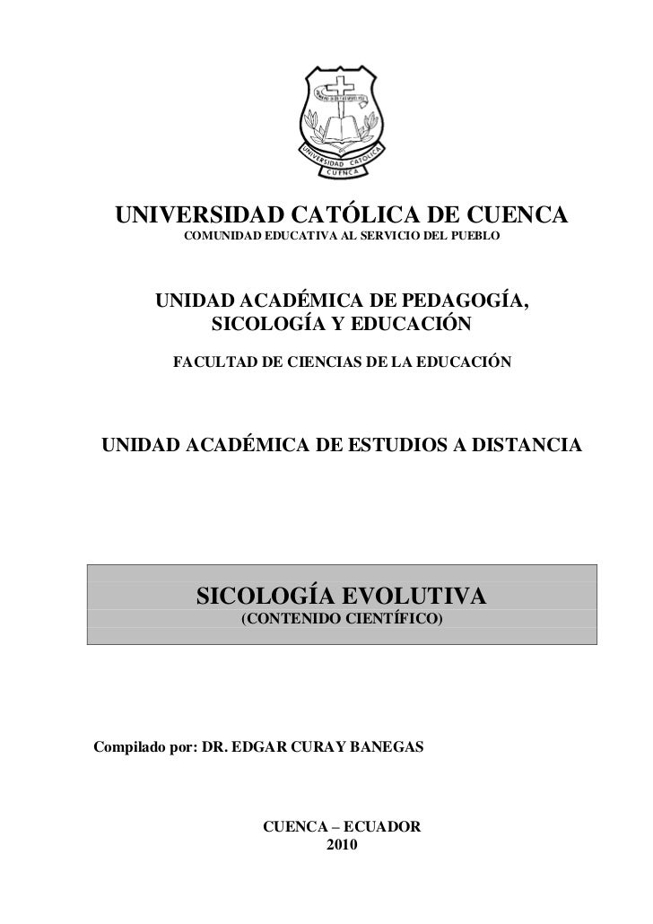 UNIVERSIDAD CATÓLICA DE CUENCA          COMUNIDAD EDUCATIVA AL SERVICIO DEL PUEBLO       UNIDAD ACADÉMICA DE PEDAGOGÍA,   ...