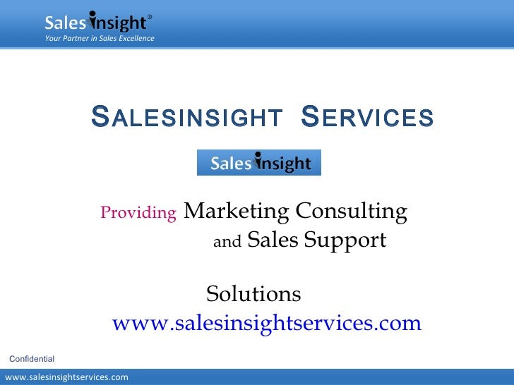 Sales Insight (www.salesinsightservices.com)