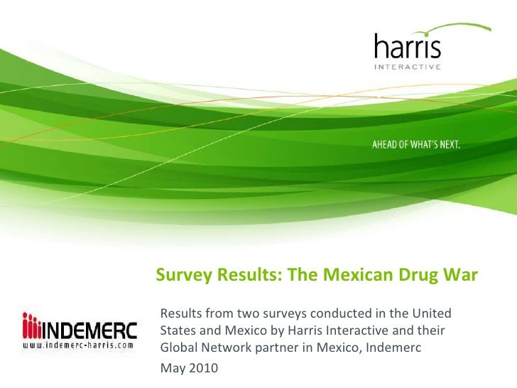 Survey Results: The Mexican Drug War<br />Results from two surveys conducted in the United States and Mexico by Harris Int...