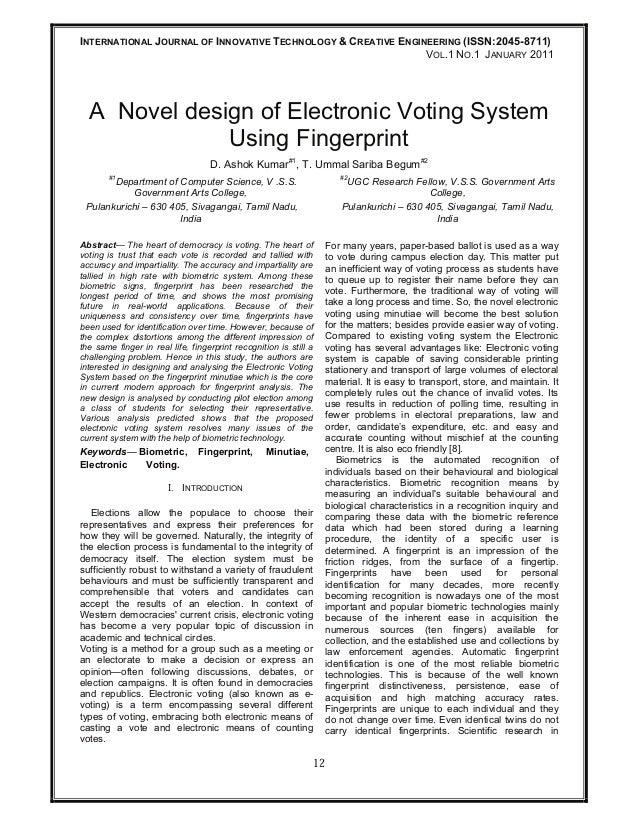 INTERNATIONAL JOURNAL OF INNOVATIVE TECHNOLOGY & CREATIVE ENGINEERING (ISSN:2045-8711)                                    ...