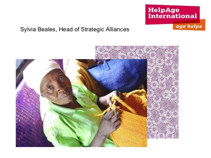 Sylvia Beales, Head of Strategic Alliances