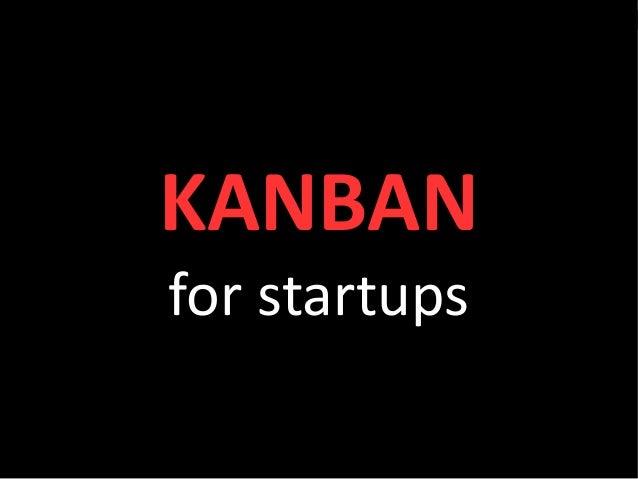 #kanban                    Visualisation                   for agile teamsKANBAN                Siddharta Govindaraj      ...