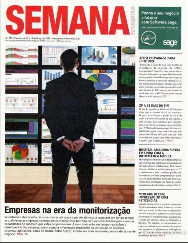 Actualidade8 Hospital Fernando Fonseca é exemplo de saúde tecnológica O Processo Clínico Electrónico, implemetando nesta u...