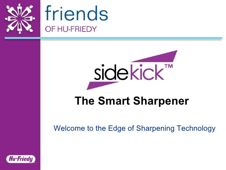 The Smart Sharpener Welcome to the Edge of Sharpening Technology