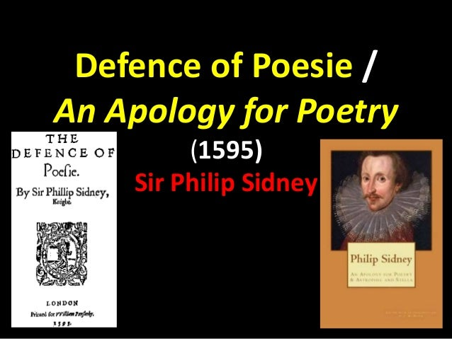 an apology for poetry by philip sidney essay