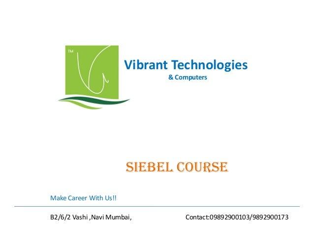 Siebel training-course-navi-mumbai-siebel-course-provider-navi-mumbai