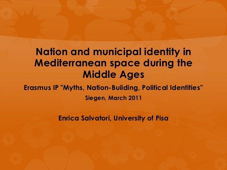 "Siegen2011 - Myths, Nation-Building, Political Identities"""