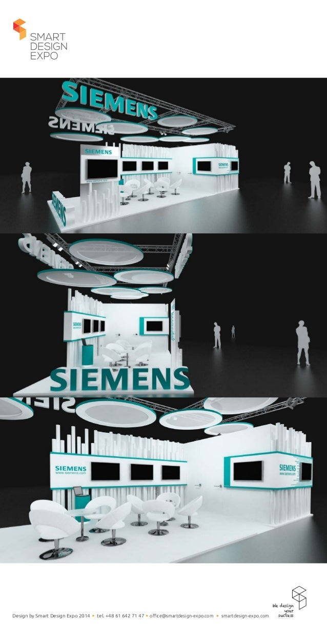 Exhibition Stand Projects : Exhibition stand project for siemens