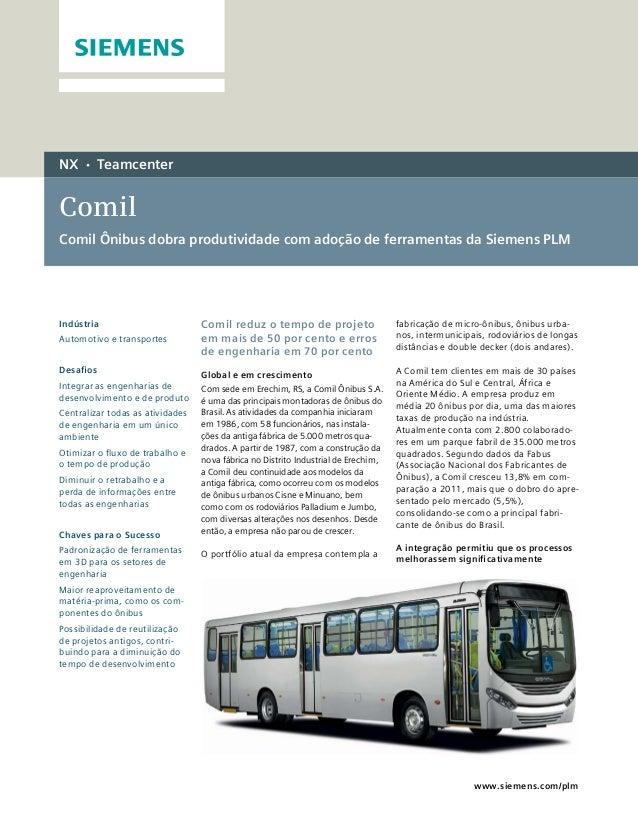 Estudo de Caso Comil - Siemens PLM
