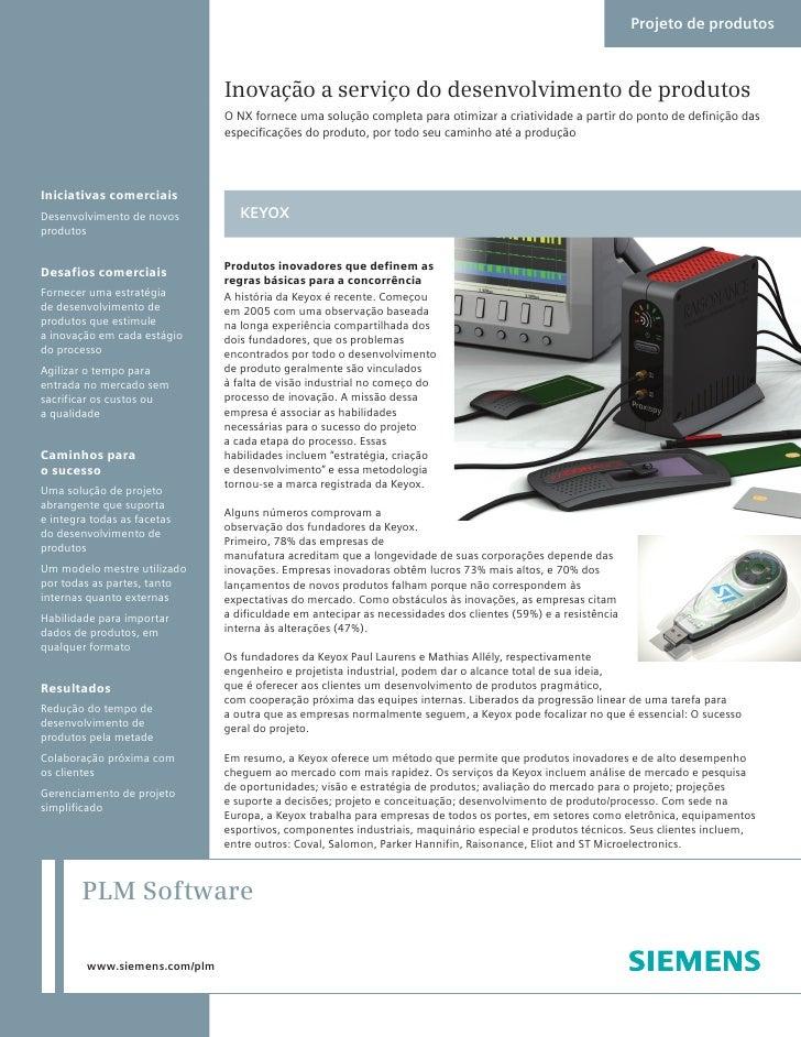 Caso de Sucesso Keyox e Siemens PLM