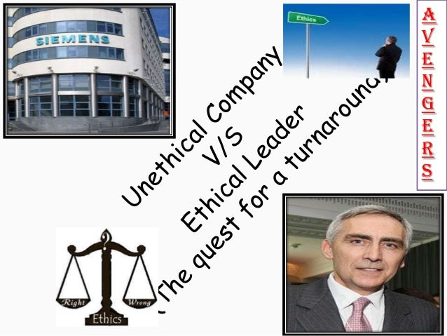 "siemens case study corruption Siemens and the battle against bribery and corruption  given the corruption that permeated siemens,  ""that's the important lesson from our case,"" he says."