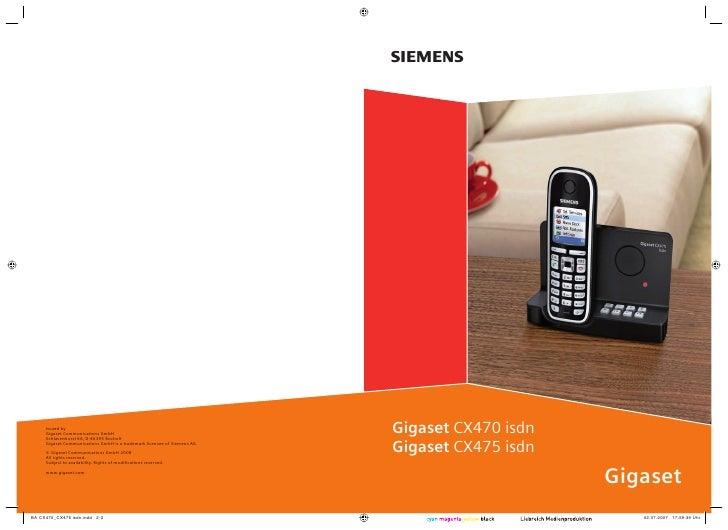 s     Issued by Gigaset Communications GmbH Schlavenhorst 66, D-46395 Bocholt                                             ...