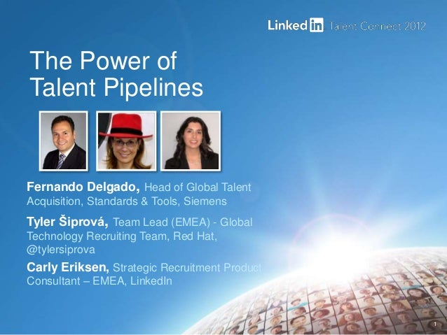 LinkedIn Talent Connect Europe 2012: Next Gen Recruiting - Pipelining Talent with Siemens & Red Hat