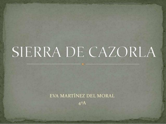 EVA MARTÍNEZ DEL MORAL4ºA