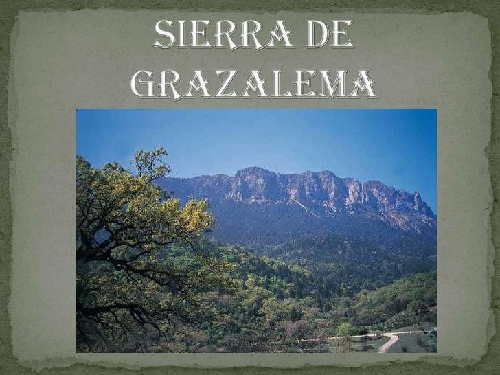 SIERRA DE GRAZALEMA<br />