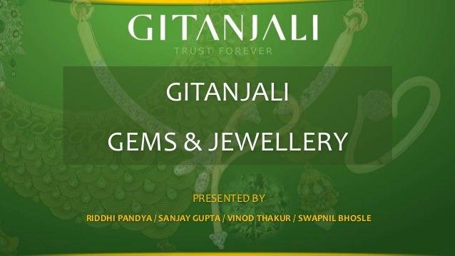 GITANJALI GEMS & JEWELLERY PRESENTED BY RIDDHI PANDYA / SANJAY GUPTA / VINOD THAKUR / SWAPNIL BHOSLE