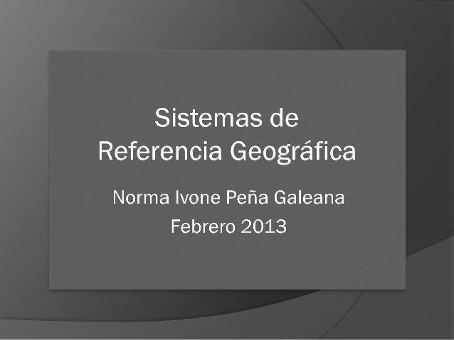 Elaboración de mapas 2NIPG-2013