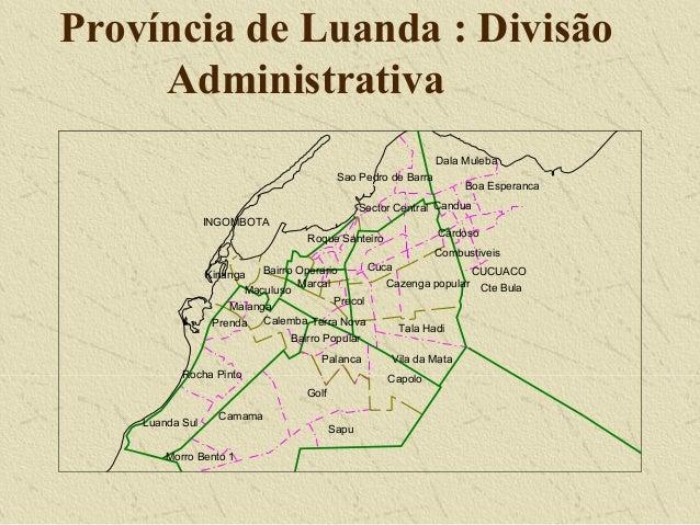 DW Research: GIS riscos ambientais em Luanda, 2000