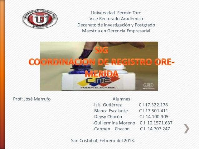 Universidad Fermín Toro                             Vice Rectorado Académico                        Decanato de Investigac...