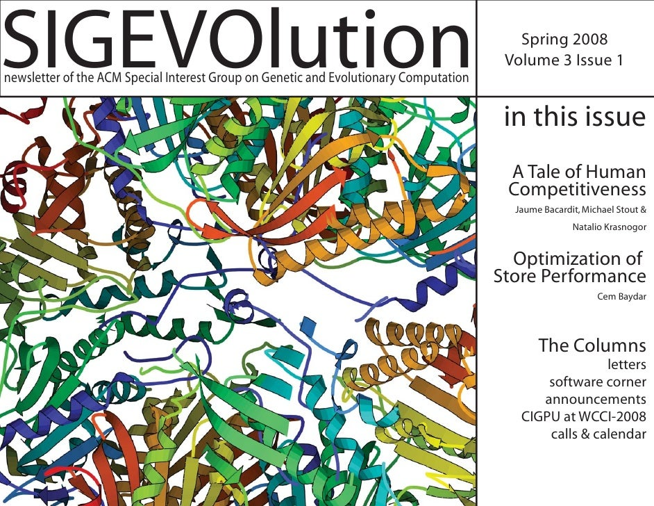 SIGEVOlution Volume 3 Issue 1