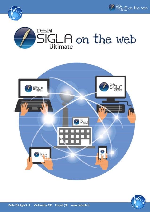 SIGLA ON THE WEB