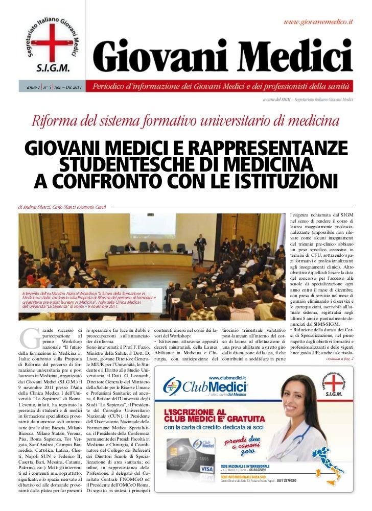 rivista giovani medici n.5 anno 2011