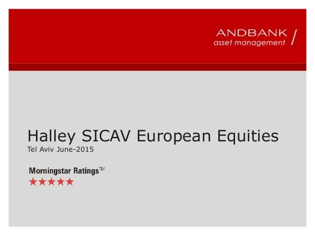 Halley SICAV European Equities Tel Aviv June-2015