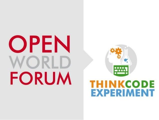 Sigmah presentation @Open World Forum 2012 - Olivier Sarrat, Groupe URD