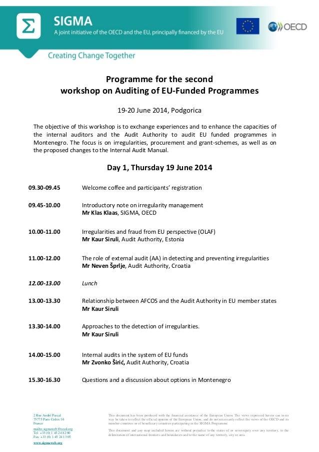 Sigma workshop2 ipa auditing agenda 19 20 june2014-eng