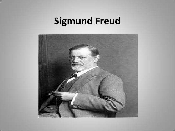 Sigmund Freud<br />