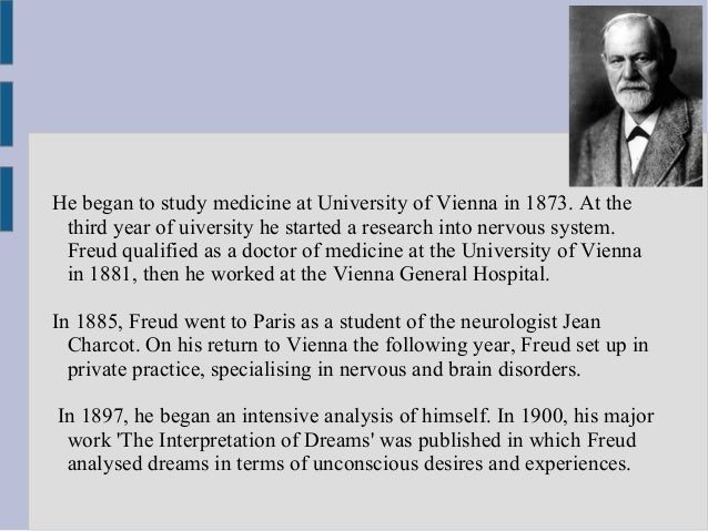 account of the life and accomplishments of sigmund freud Enjoy the best sigmund freud quotes at brainyquote quotations by sigmund freud, austrian psychologist, born may 6, 1856 share with your friends.
