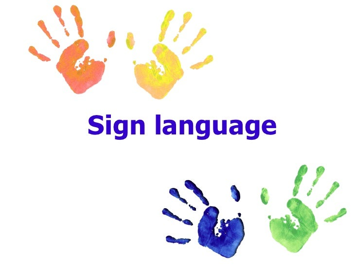 Sign Language subjects on online tutorig collin college