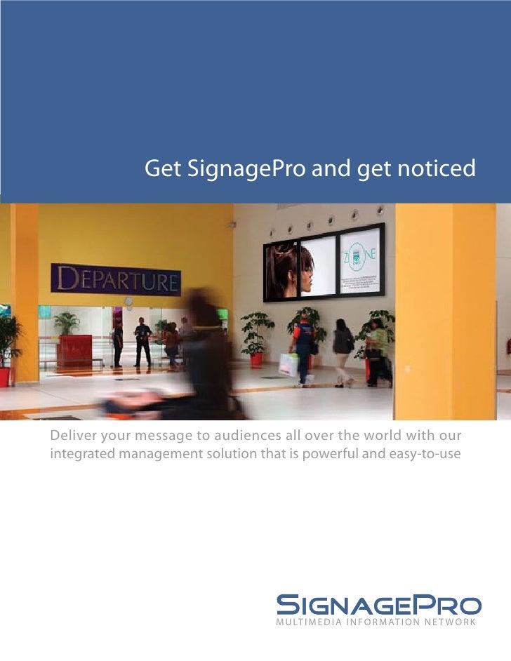 Signage Pro
