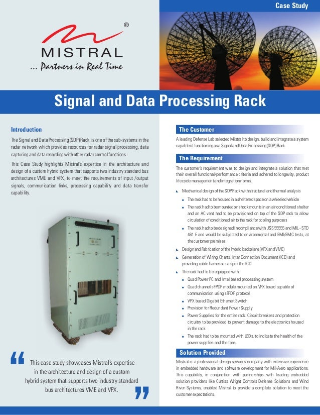 Signal & Data Processing Rack