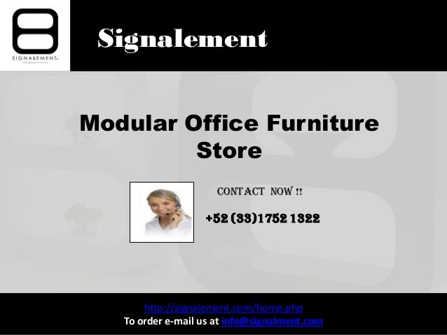 Signalement modular office furniture store for Mail order furniture stores