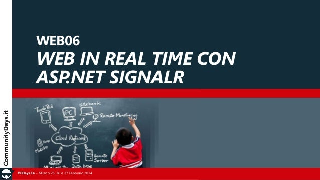 Real time web with SignalR