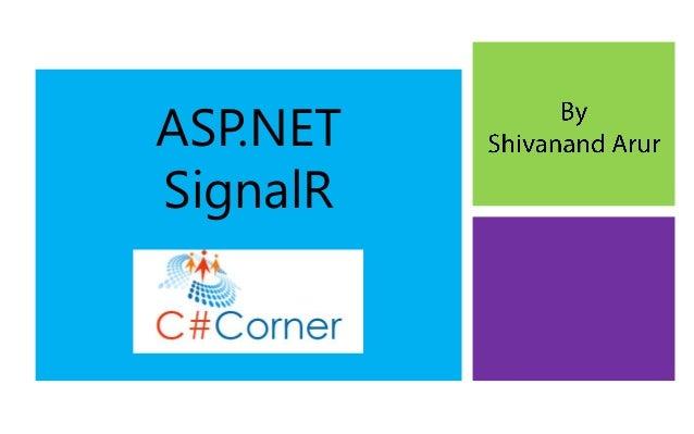 SignalR for ASP.NET Developers