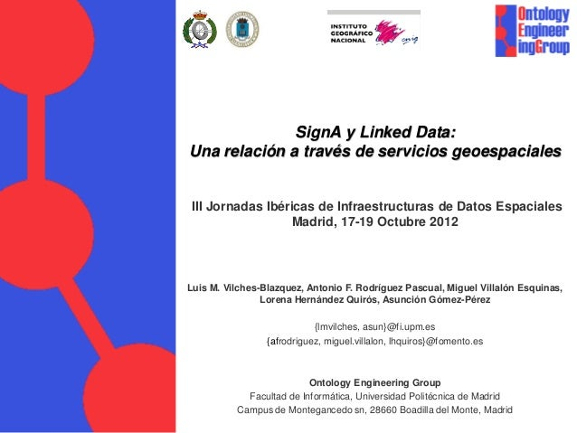 SignA y Linked Data: Una relación a través de servicios geoespaciales