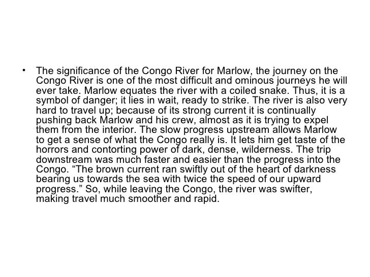 congo river in heart of darkness essay