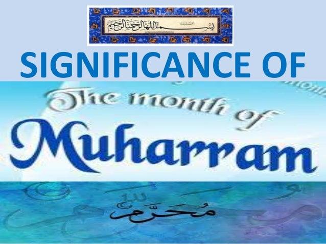 Significance of muharram